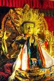 Golden Buddha images Stock Photos