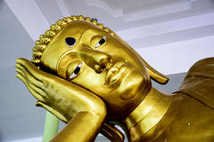 Golden buddha Royalty Free Stock Image