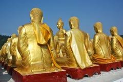 Golden Buddha. Royalty Free Stock Photography