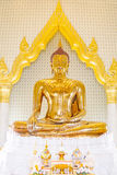 Golden Buddha. Royalty Free Stock Image