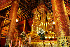 Golden Buddha Royalty Free Stock Photography