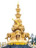 Golden Buddha on Mounth Emei Royalty Free Stock Image