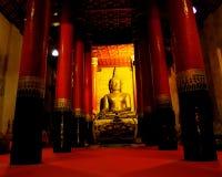 Golden  Buddha. Golden Buddha at nan province thailand Stock Image