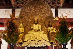 Golden buddha,  national treasure Royalty Free Stock Images