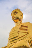 Golden Buddha's image. Located in a Thai temple Stock Images