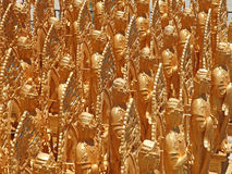 Golden Buddha's Royalty Free Stock Image