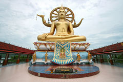 Golden buddha Samui Thailand Royalty Free Stock Photography