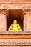 Golden Buddha Sangkhajan stock image