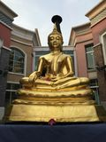 Golden buddha. In songkrans festival thailand Royalty Free Stock Photography