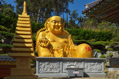 Golden Buddha in South Korea Stock Photography
