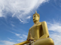 Golden Buddha Royalty Free Stock Photos