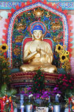 Golden Buddha Statue. An overview of Buddha statues in Yuantong Temple,in Kunming,Yunnan, China Stock Photography