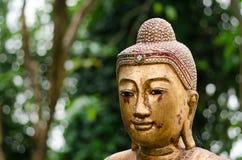 Golden Buddha Statue Stock Image