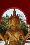 Golden Buddha statue at Big Buddha temple Stock Images