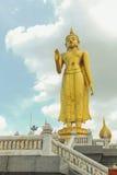 Golden Buddha Statue Stock Photo
