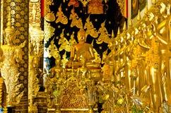 Golden buddha statue Stock Photos