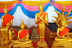 Golden Buddha Statue of Buddhism Temple in Thailand Background. Great For Any Use Stock Photo