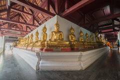 Golden Buddha statue Stock Photography