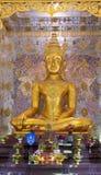Golden Buddha Statue. At Kalasin province,Thailand Stock Photos