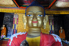 Golden Buddha Statue royalty free stock photo