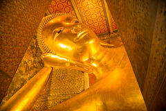 Golden buddha statue Royalty Free Stock Image