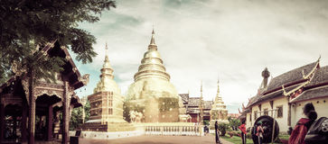 Golden Buddha statue in Thailand Buddha Temple Royalty Free Stock Photo