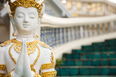 Golden Buddha statue in Thailand Buddha Temple Royalty Free Stock Image