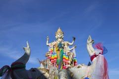 Golden Buddha statue in Thailand Stock Photos