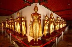 Golden  buddha statue,Thailand Stock Photos