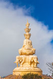 The golden buddha statue on top of Emei mountain in China Stock Photos