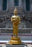 Golden Buddha Statue at Wat Arun Stock Photography