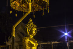 Golden buddha statue Royalty Free Stock Photo