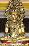 Golden buddha statue wat saket bangkok thailand Royalty Free Stock Photos
