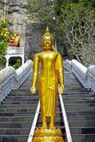 Golden Buddha statues Stock Photos