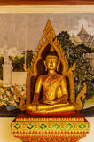 Golden buddha statues at Wat Doi Suthep Chiang Mai Thailand royalty free stock images