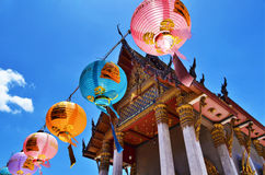 Golden Buddha temple Stock Photography