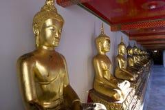 Golden Buddha, Thailand. Golden statue of Wat Pho, Bangkok, Thailand Stock Image