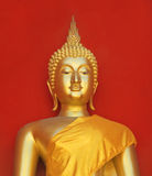 Golden buddha in Thailand Royalty Free Stock Photos