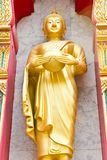 Golden buddha in Wat  Chalong Royalty Free Stock Photography