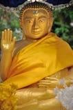 Golden Buddha at Wat  Paphaimisaiyaram Stock Photo
