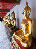 Golden Buddha At Wat Pho. Golden Buddha, Wat Pho, Thailand royalty free stock image