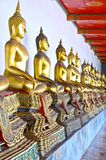 Golden Buddha, Wat Pho Royalty Free Stock Photography