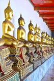 Golden Buddha, Wat Pho. Thailand Royalty Free Stock Photography