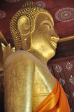 Golden Buddha at Wat Sene Royalty Free Stock Photos