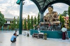 Golden buddha Royalty Free Stock Image