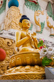Golden Buddhas Royalty Free Stock Image