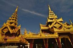Shwezigon Paya.Bagan Stock Photo