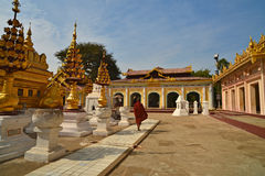 Shwezigon Paya.Bagan Royalty Free Stock Photo