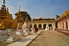 Shwezigon Paya.Bagan Royalty Free Stock Photo