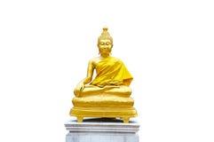 Golden Buddhist Sculpture Stock Photography